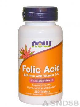 NOW Folic Acid (B-9)