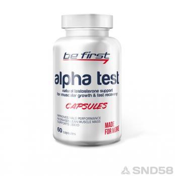 Be First Alpha Test (Тестостерон бустер)