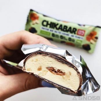 Chikalab Протеиновый батончик в шоколаде с начинкой Chikabar (Батончик)