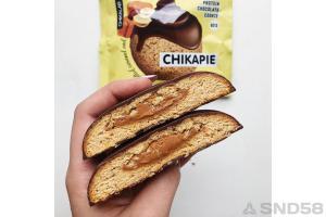 Chikalab Печенье глазированное с начинкой Chikapie_2