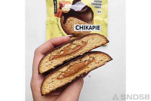 Chikalab Печенье глазированное с начинкой Chikapie
