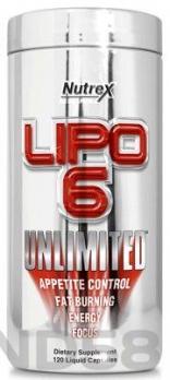 Nutrex Lipo-6 Unlimited (Жиросжигатель)