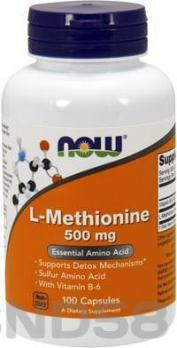 NOW L-Methionine (L-метионин)