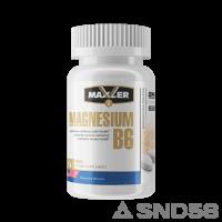 Maxler Magnesium B6 (Магний)