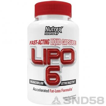 Nutrex Lipo-6 (Жиросжигатель)