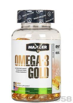 Maxler Omega-3 Gold (Жирные кислоты)