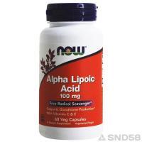 NOW Alpha Lipoic Acid 100mg (альфа липоевая кислота)