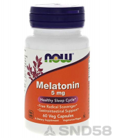 NOW Melatonin 5mg (Мелатонин) (Спец преп.)