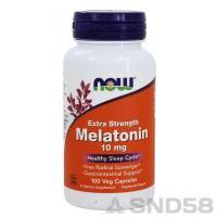 NOW Melatonin 10mg (Мелатонин) (Спец преп.)