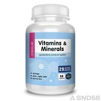 Chikalab Vitamins and minerals (Витамины)