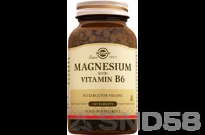 Solgar Magnesium with Vitamin B6 (Магний)