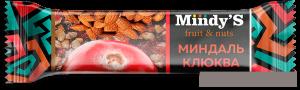 Mindy's Батончик ореховый с фруктами
