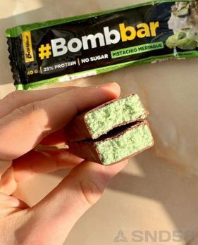 Bombbar Батончик в шоколаде протеиновый (Батончик)