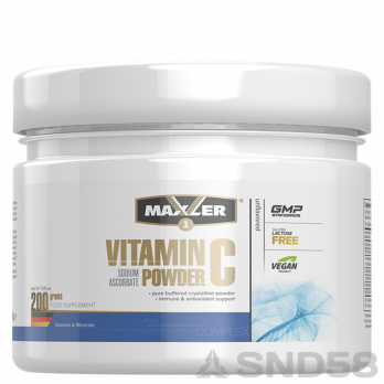 Maxler Vitamin C Sodium Ascorbate (Витамины)