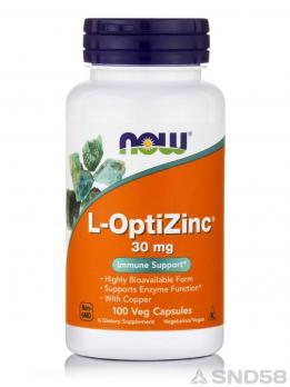 NOW L-OptiZinc (Витамины)